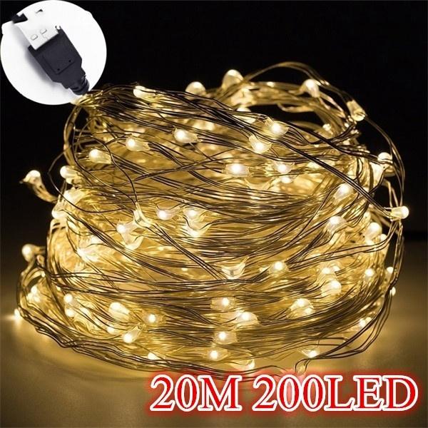 ledlightstring, ledcopperstringlight, christmasfairylight, Outdoor