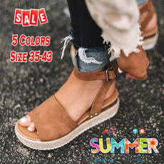 Braids, Summer, Sandals, Women Sandals