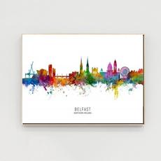 Decorative, citymap, belfast, Home Decor
