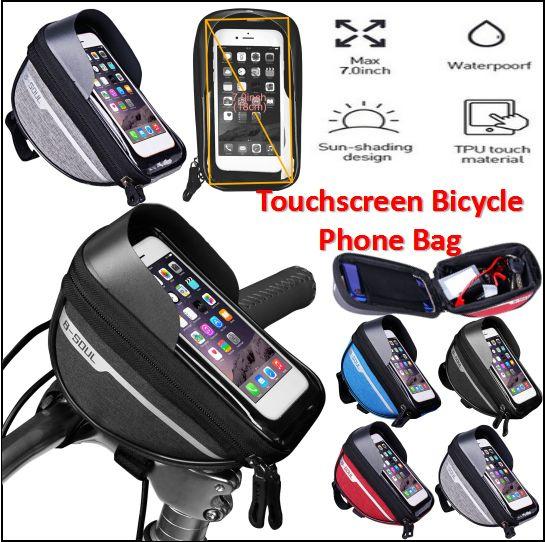 bikeaccessorie, Bicycle, cellphoneholderforbike, bikefrontbag