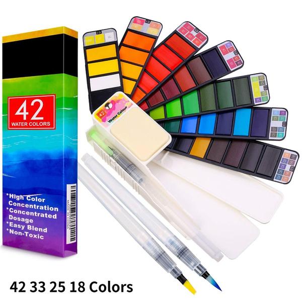 Art Supplies, Outdoor, art, watercolorpainting