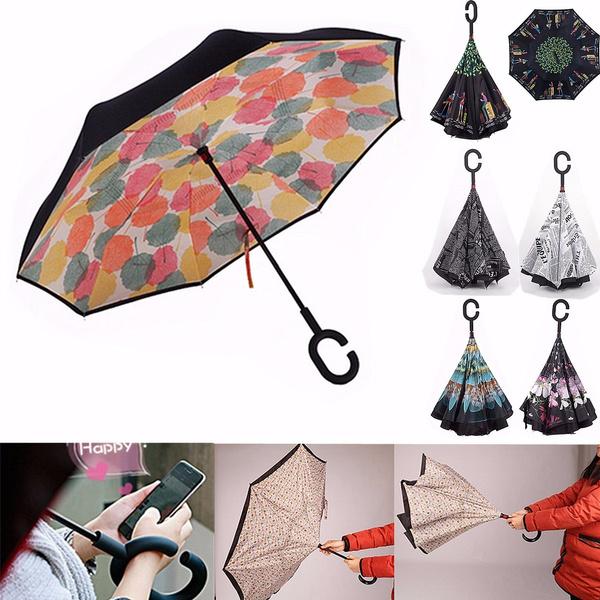 umbrellarainwomen, Umbrella, Sports & Outdoors, doublelayer
