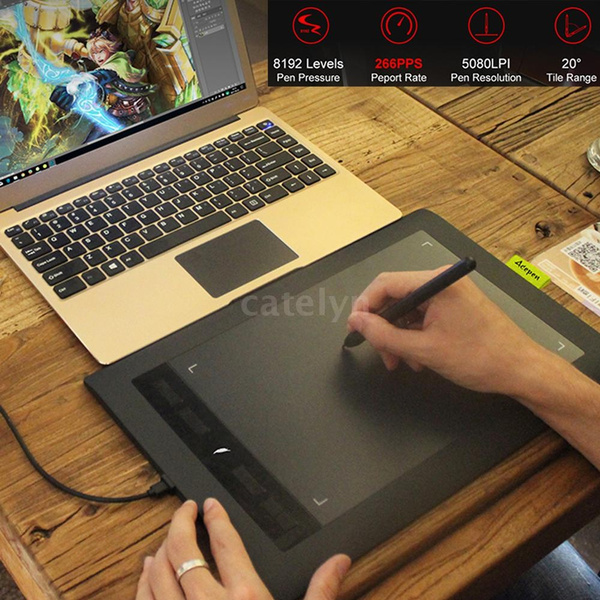 2020 Acepen Professional Graphic Design Tablet Digital Tablet Hand Painted Board Computer Drawing Board Electronic Drawing Board Animation Design Handwriting Board Drawing Board Wish