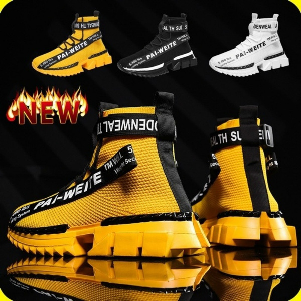 New Men's Fashion Sneakers Breathable