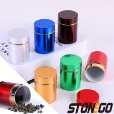 herbstashjar, Aluminum, tobacco, Jars