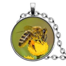 honey, Pendant, Flowers, Jewelry