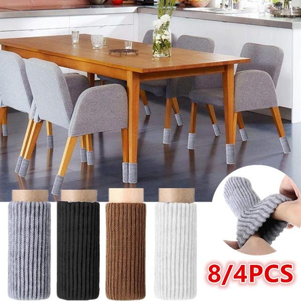 Durable Furniture Safety Elastic Hardwood Floors Chair Leg Solid Floor Protector Wish