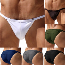 Summer, Plus Size, Thong, men's briefs