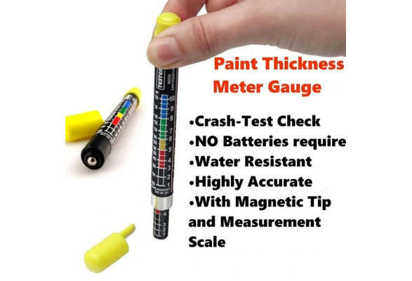 Auto Car Paint Thickness Tester Meter Gauge Crash Check Test Lacquer Tester #