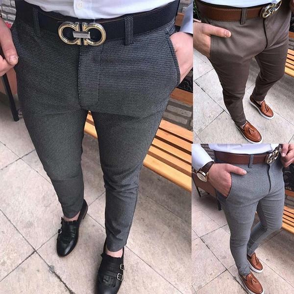 Leggings, plaid, Fashion, Casual pants