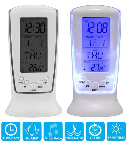 smartclock, led, thermometerclock, Led Clock