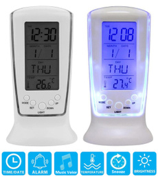 smartclock, led, thermometerclock, Led Clock