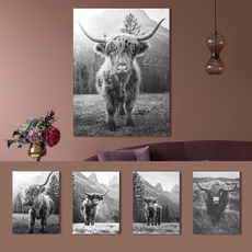 art print, cow, nordicpicture, Wall Art
