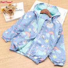 rainbow, hooded, Outerwear, Sleeve