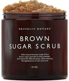 brown, footscrub, exfoliating, brownsugar