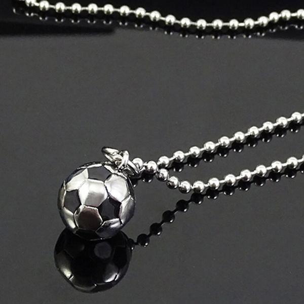 Steel, Soccer, Stainless Steel, Jewelry