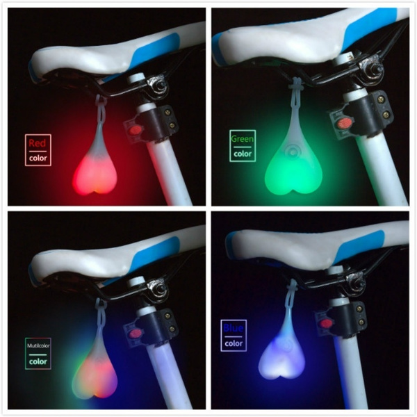 Green Color Testicle Lamp for Bike