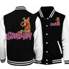 scoobydoosweaterjacket, Casual Jackets, printed sweatshirt, Sleeve