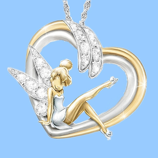 Heart, Fashion necklaces, Jewelry, Angel