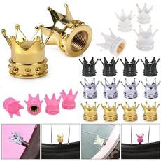 King, crowntireairvalvestemcap, wheelcapcover, Cars
