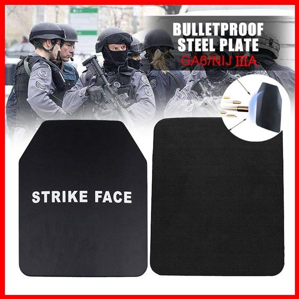 Steel, bulletproofplate, gilettactique, bulletproofvest