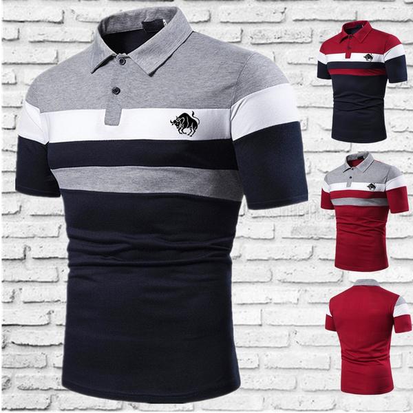Shorts, Slim Fit, Polo Shirts, Sleeve