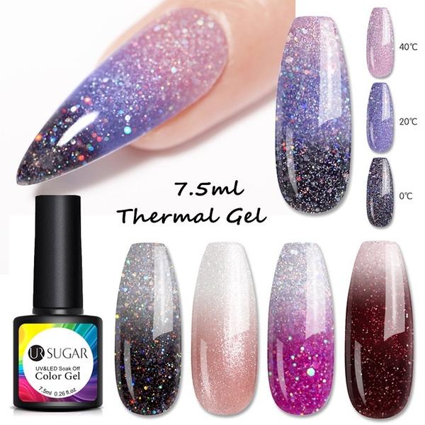 thermalgel, Beauty, sequinsnailgel, Nail Polish