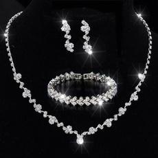 Bridesmaid, Jewelry, Crystal Jewelry, Earring