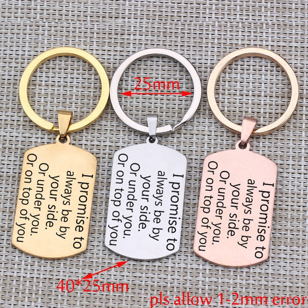 Steel, Stainless, Key Chain, Gifts