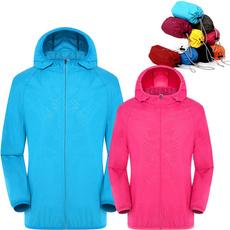 rainproof, Fashion, waterproofwindproofforwomenmen, Jacket
