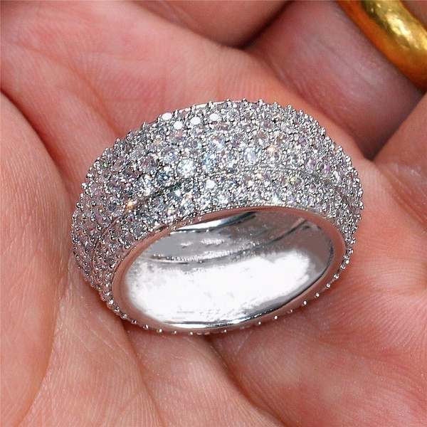 Couple Rings, Sterling, DIAMOND, wedding ring