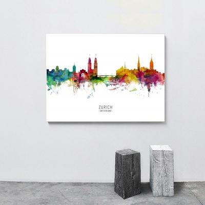 Decorative, citymap, Wall Art, Home Decor
