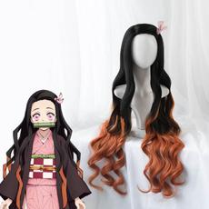 wig, Shorts, Cosplay, Demon
