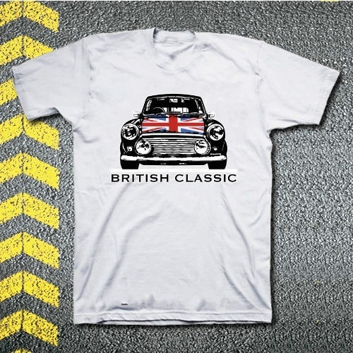 T-Shirt MINI UNION JACK S XXL #unionjack #mini