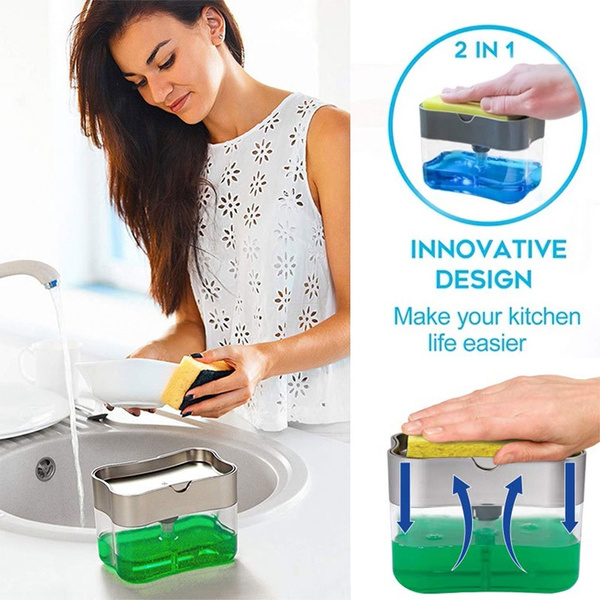 Bathroom Accessories, 2in1dispenser, dispensercase, Kitchen & Dining