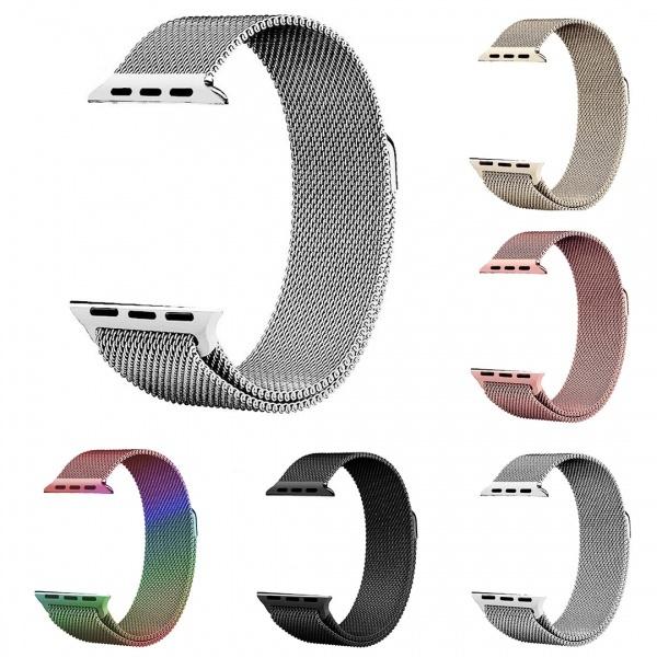 Bracelet, applewatchband44mm, Apple, milaneseloopiwatchband