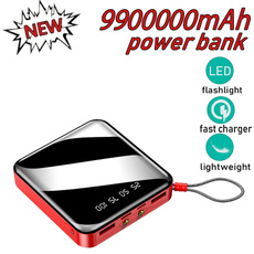 Rechargeable, Mobile Power Bank, Battery Charger, Phone