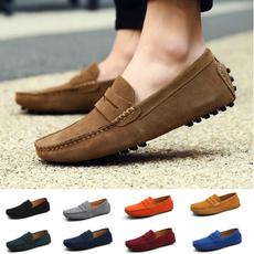 casual shoes, sliponloafer, moccasin, leathershoesformen