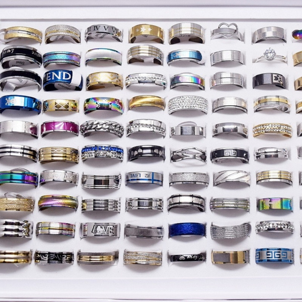 Couple Rings, Steel, Fashion, lover gifts