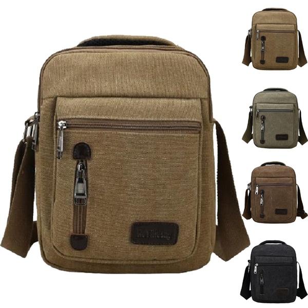 Shoulder Bags, Canvas, Hiking, Messenger Bags