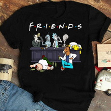 Fashion, Cotton T Shirt, TV, rickandmorty