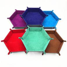 Box, Storage Box, Dice, leather