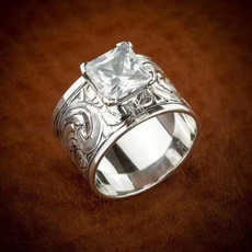 Sterling, DIAMOND, wedding ring, Gifts