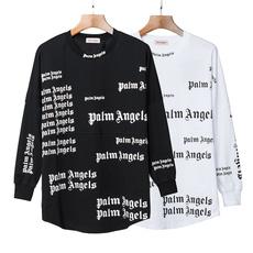 letterlongsleeve, 면, couplelongsleeve, Angel