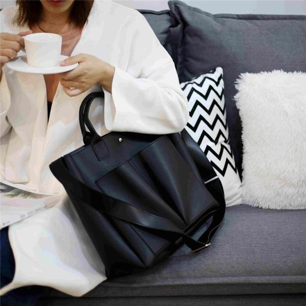 Casual bag, Simple, Laptop, women messages bags