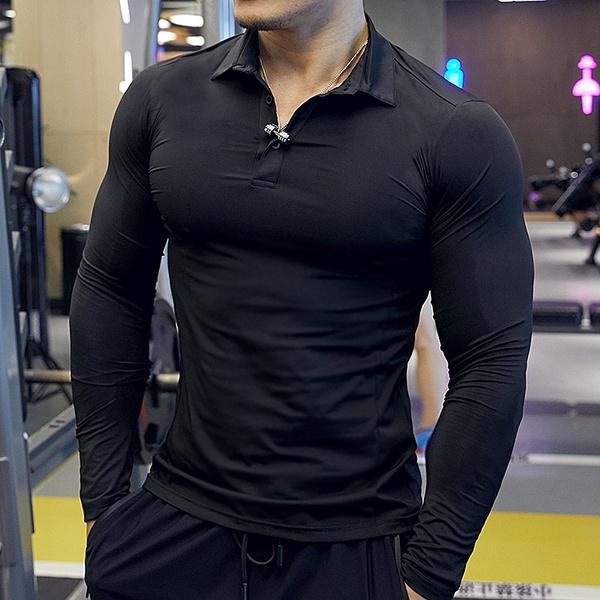 polo men, Shirt, Sleeve, Fitness