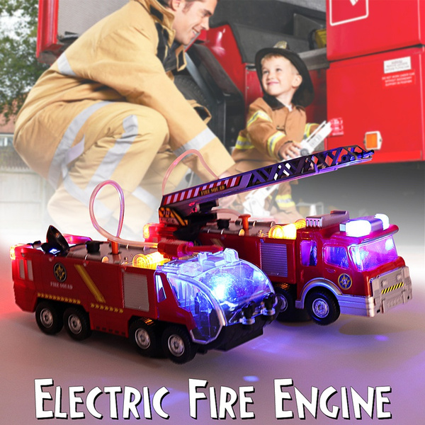 Toy, Electric, Gifts, fireman
