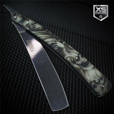 shavingrazor, pocketknife, razorknife, skull