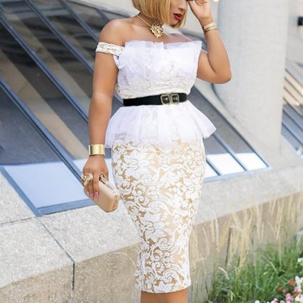 Fashion, Lace, Dress, vestido