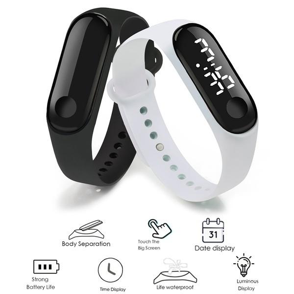 Touch Screen, led, Bracelet Watch, Watch